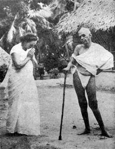 Bhagavan with Eleanor Noyes