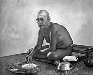 Image result for ramana maharshi in kitchen image